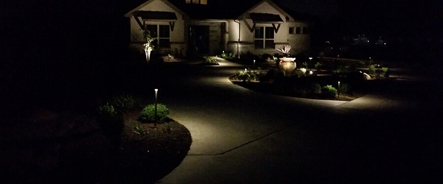 Lighting ... - Paradise Landscape Lighting Designs New Braunfels